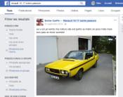 Groupe Facebook sur nos voitures